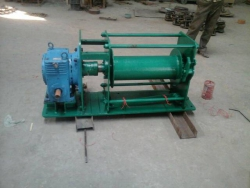 Manual Crab Winch With Worm Reduction Gear Box