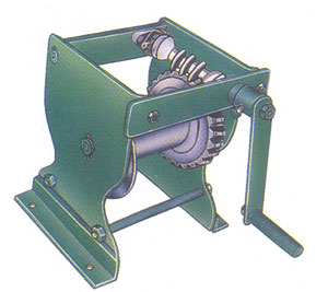 Worm Reduction Winch