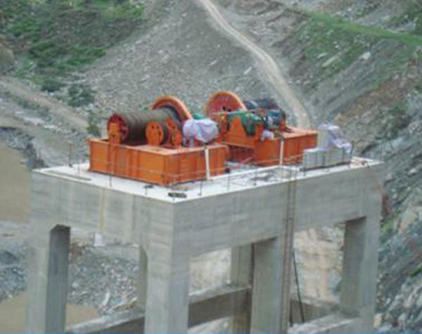 Dam Gate Lifting Winches Gate Lifting Hoist